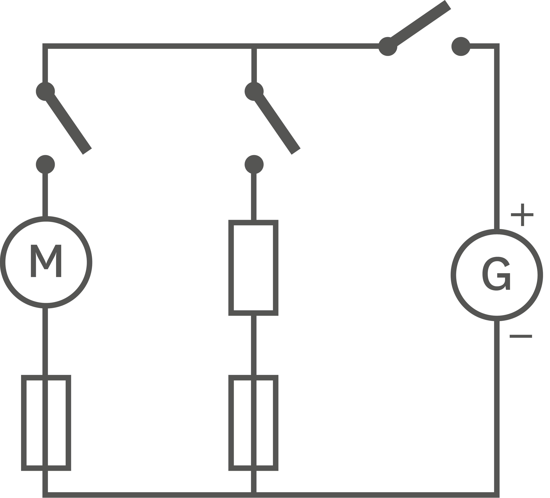 Schéma de principe d'un lave-linge.