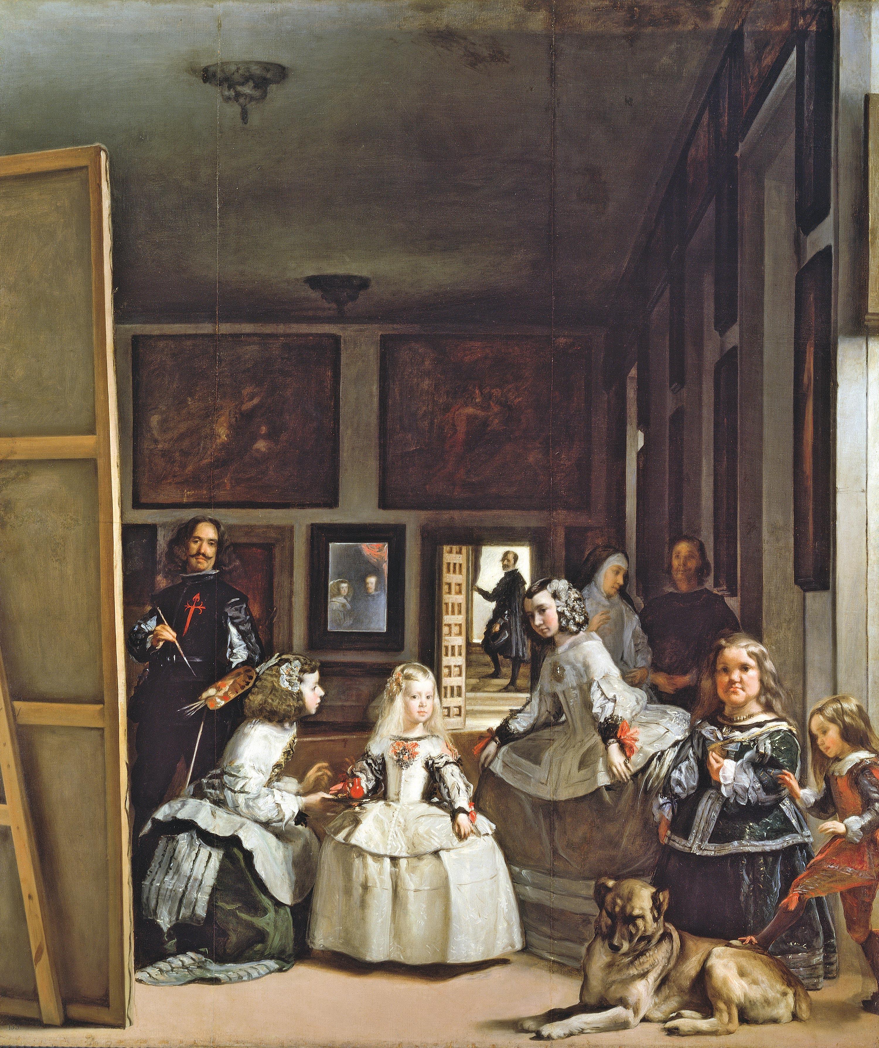 Las Meninas o La familia de Felipe IV