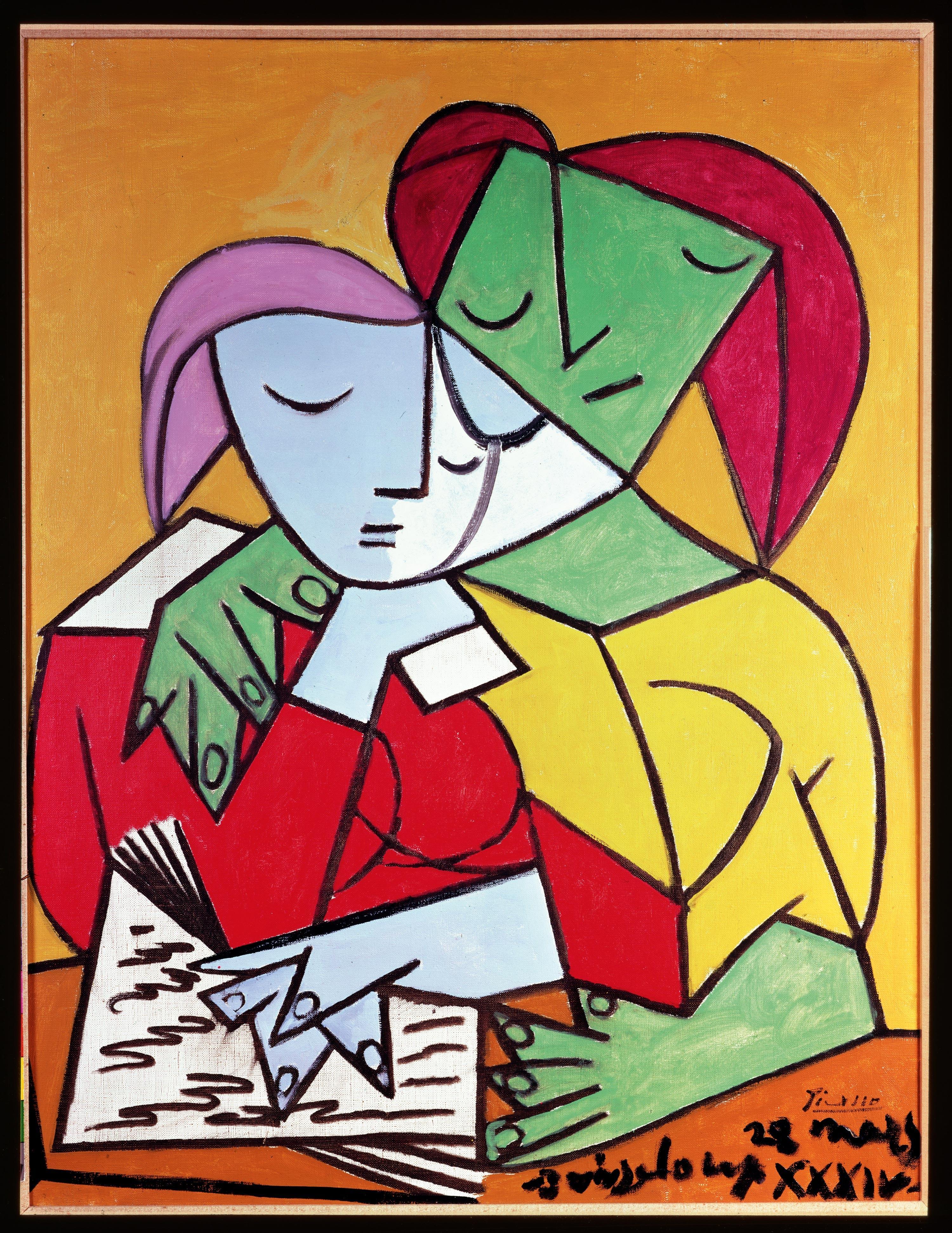 Dos mujeres leyendo