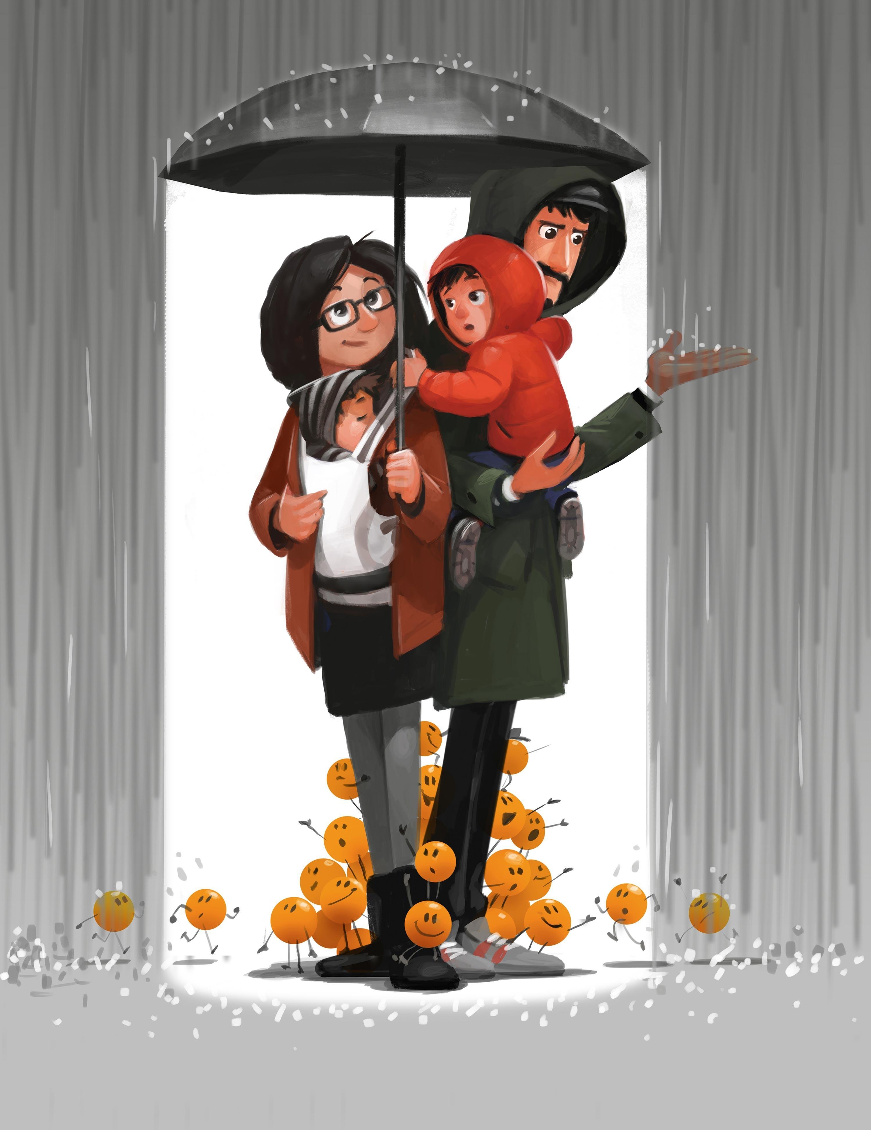 Naranjas y zapatos