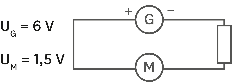 Circuit avec résistor de résistance de 30 Ω.