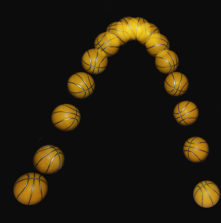 Mouvement d'un ballon.