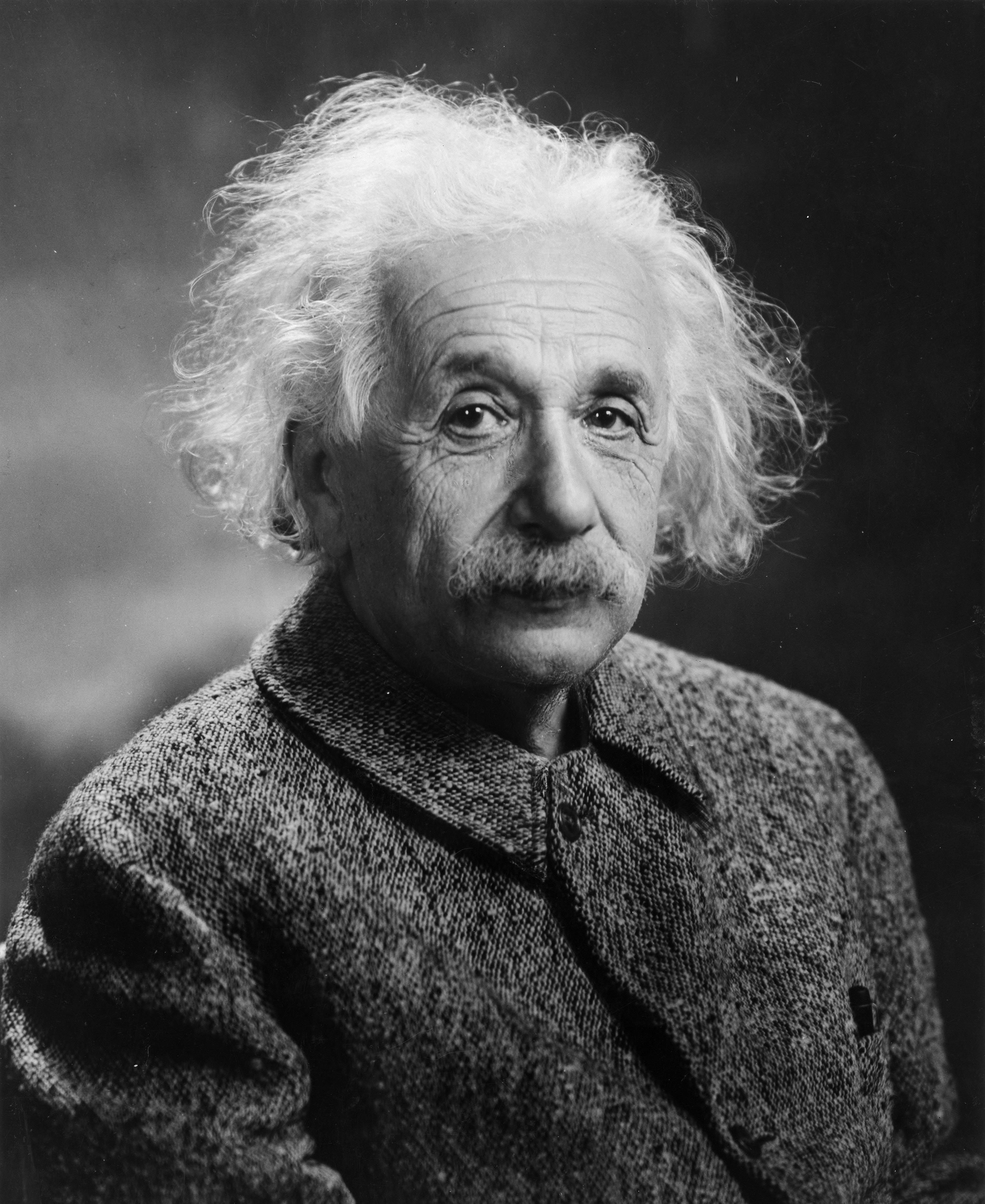▲ Einstein (1879-1955).