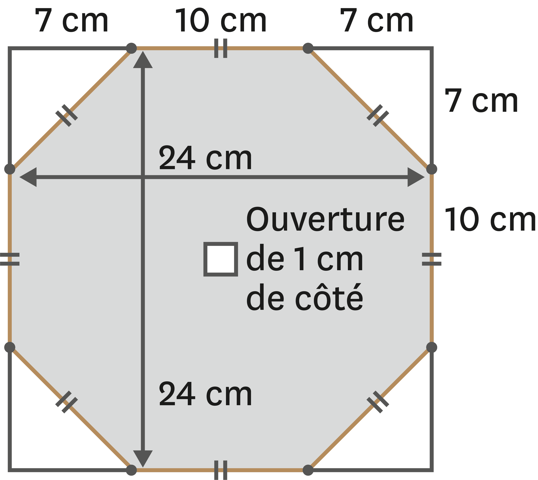 <stamp theme='pc-green1'>Doc. 3</stamp> Découpe un octogone à partir d'un carré !