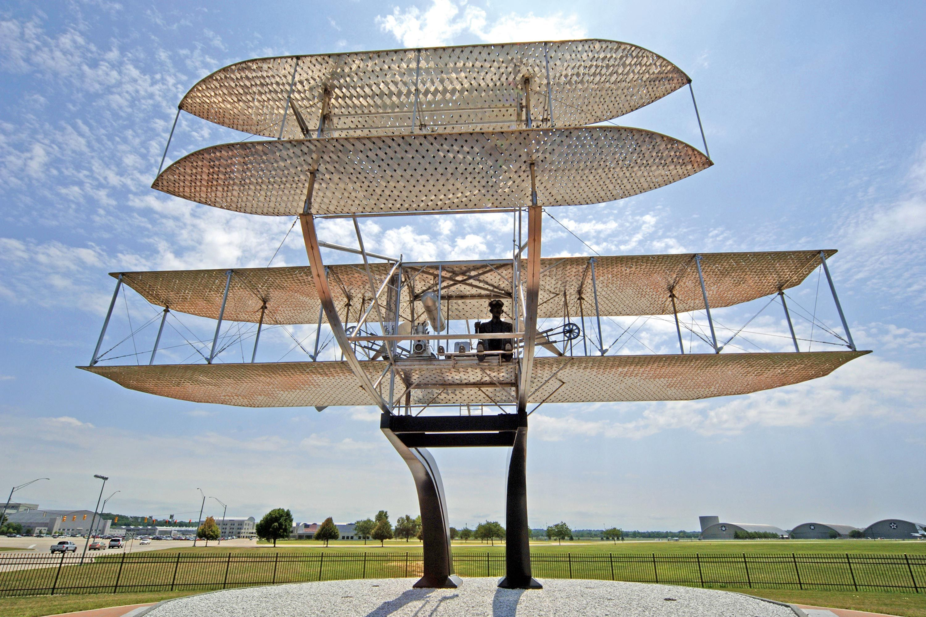 <stamp theme='pc-green1'>Doc. 1</stamp> Le Wright Flyer.