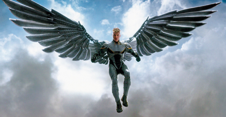 <stamp theme='svt-green1'>Doc. 1</stamp> Archangel dans le film X-Men : Apocalypse.