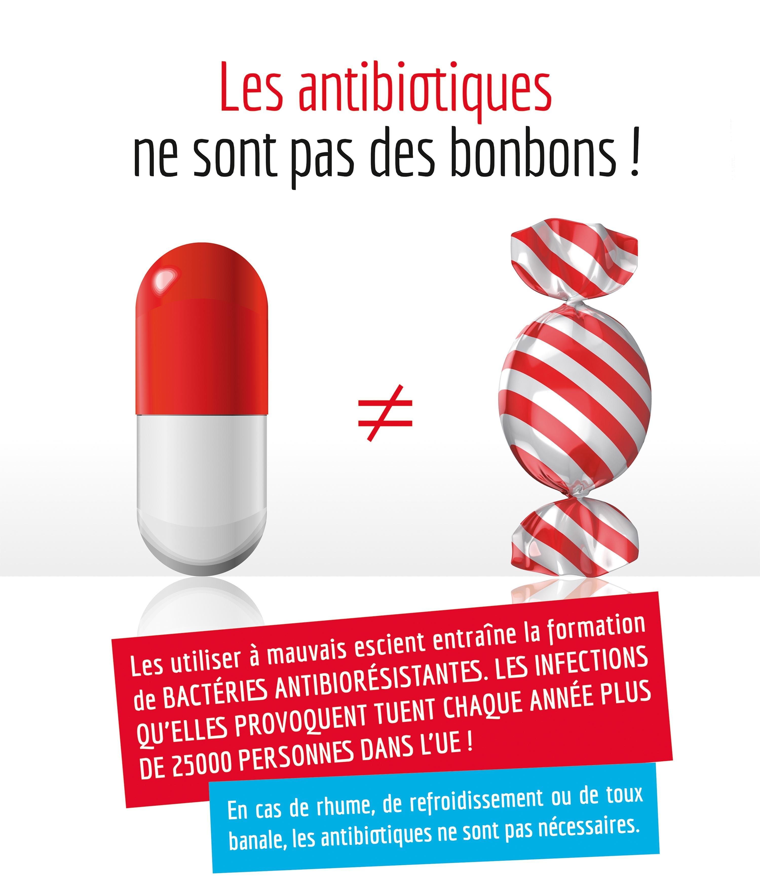 <stamp theme='svt-green1'>Doc. 5</stamp> Une campagne pour la bonne utilisation des antibiotiques au Luxembourg.