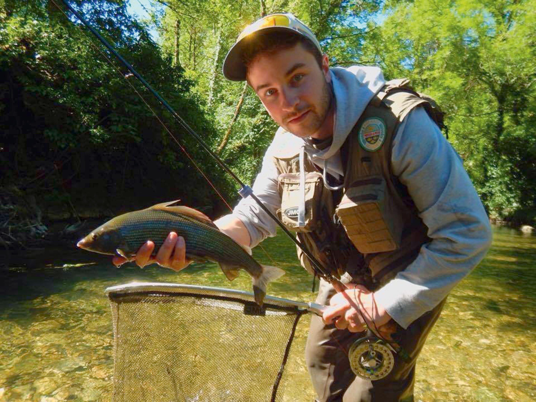 Baptiste C. : « Aimer la nature, être pédagogue tout en s'amusant. »