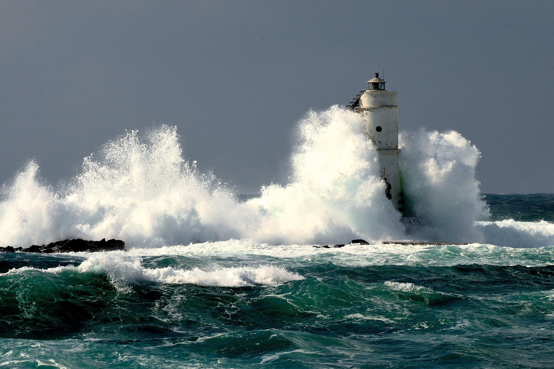 Une tempête en Sardaigne