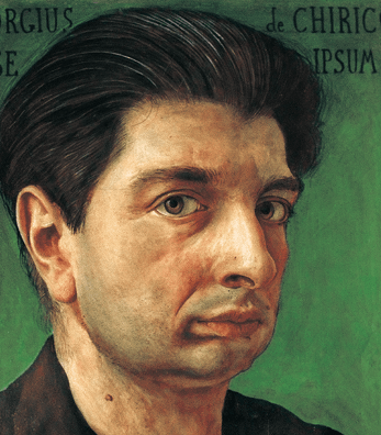 Portrait de Chirico