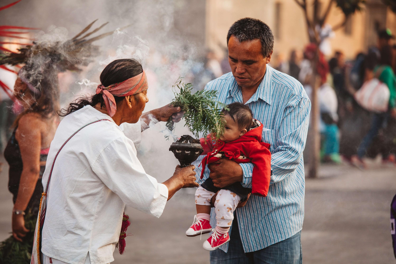 Medicina tradicional indígena en México, 2017.