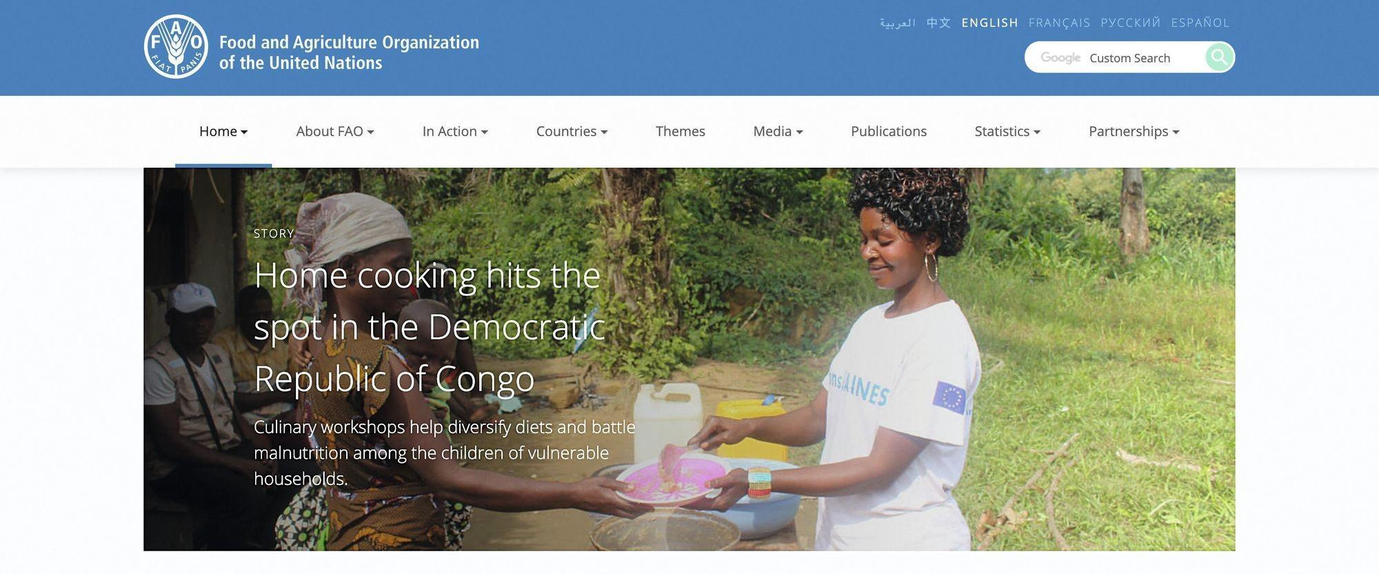 La FAO et son action pour le développement rural