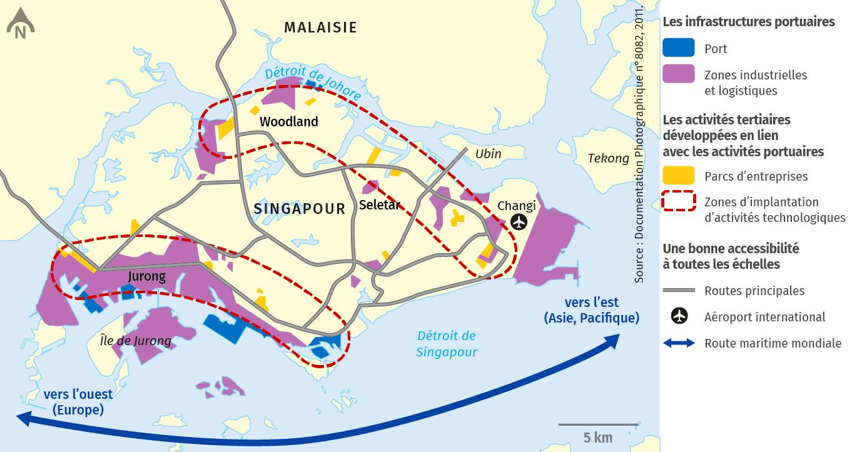 Zones industrielles et logistiques
