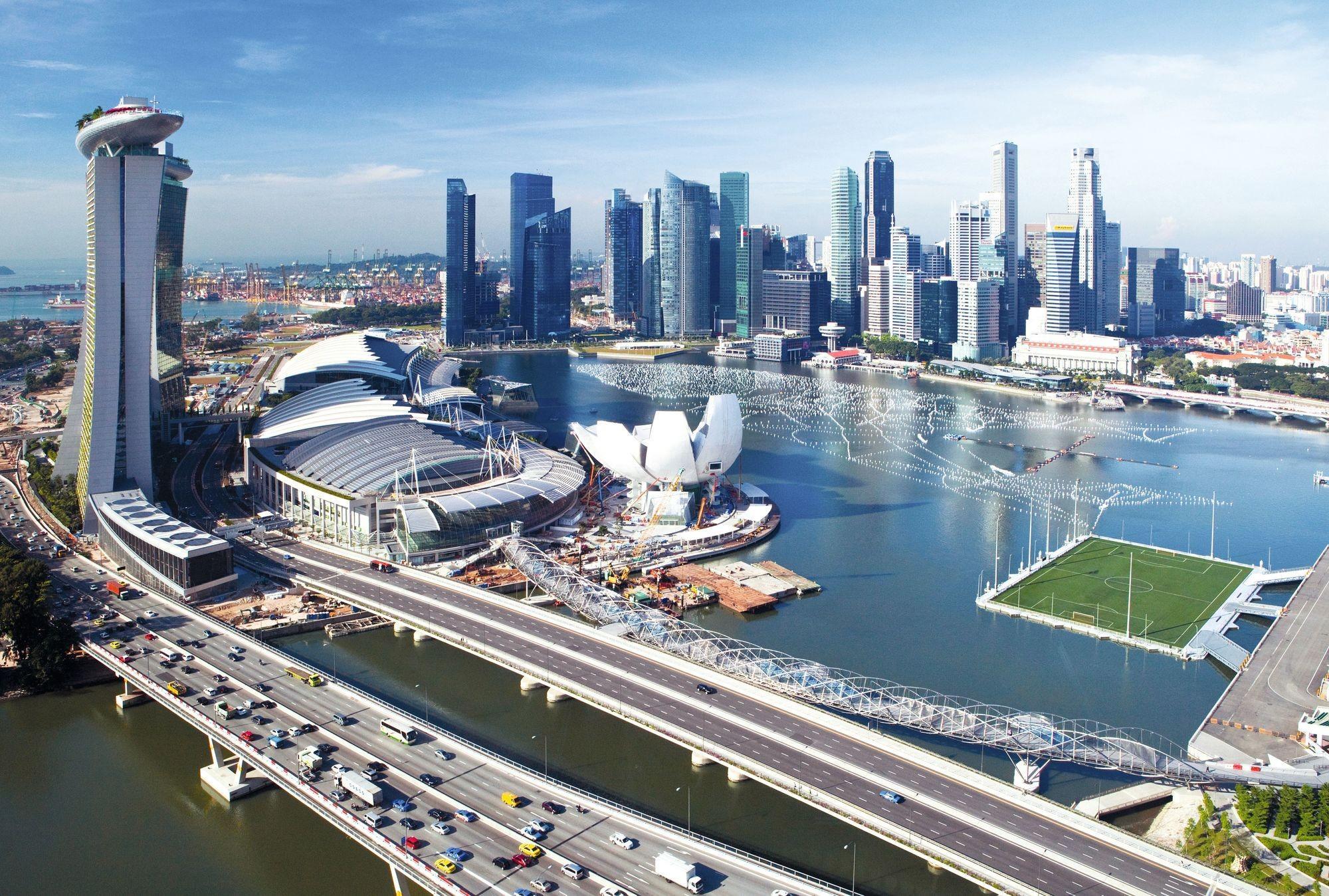 La skyline de Singapour
