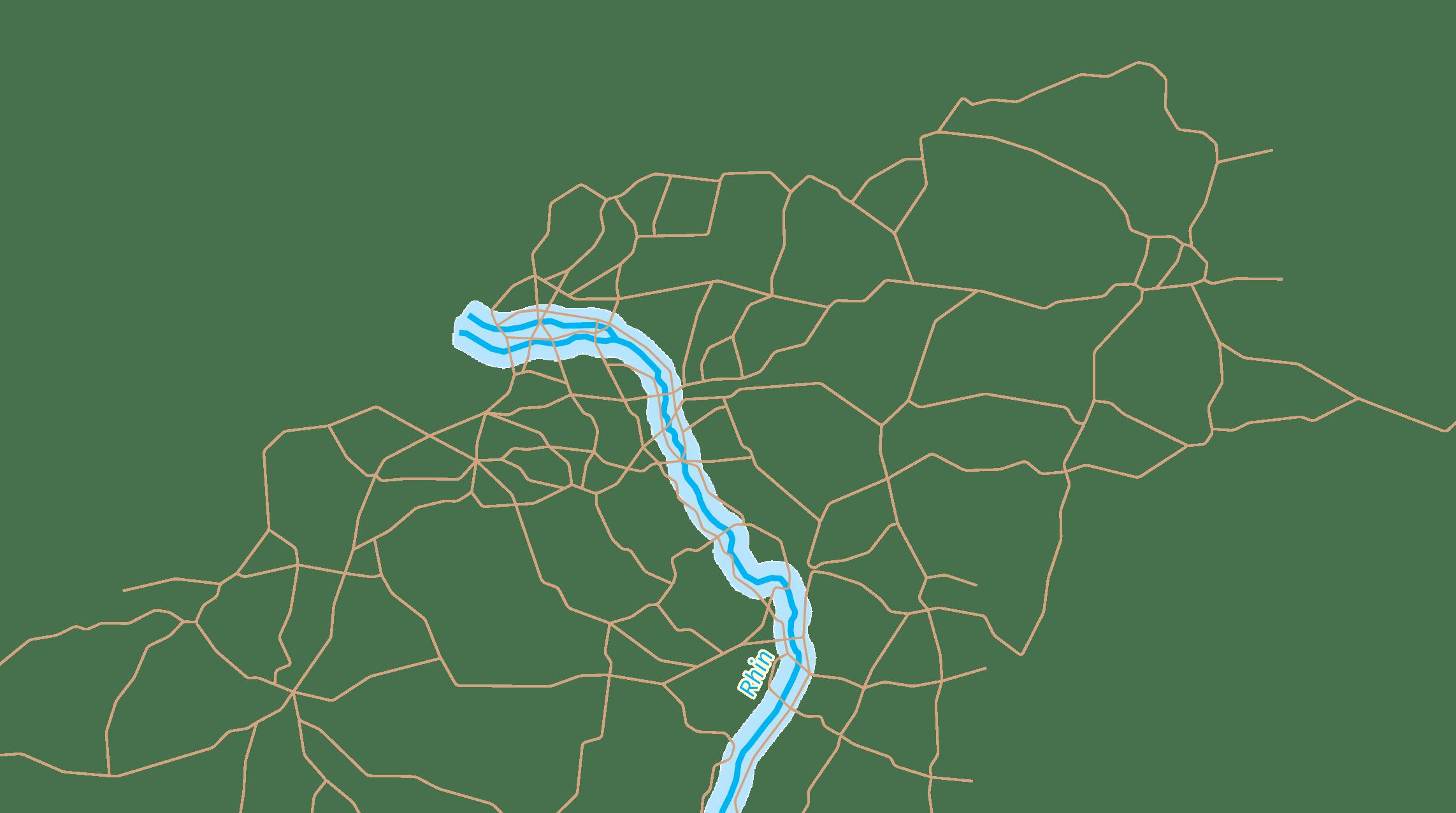 Axe de communication et axe fluvial