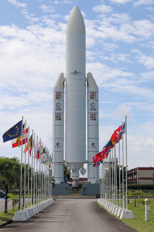 Le centre spatial guyanais à Kourou