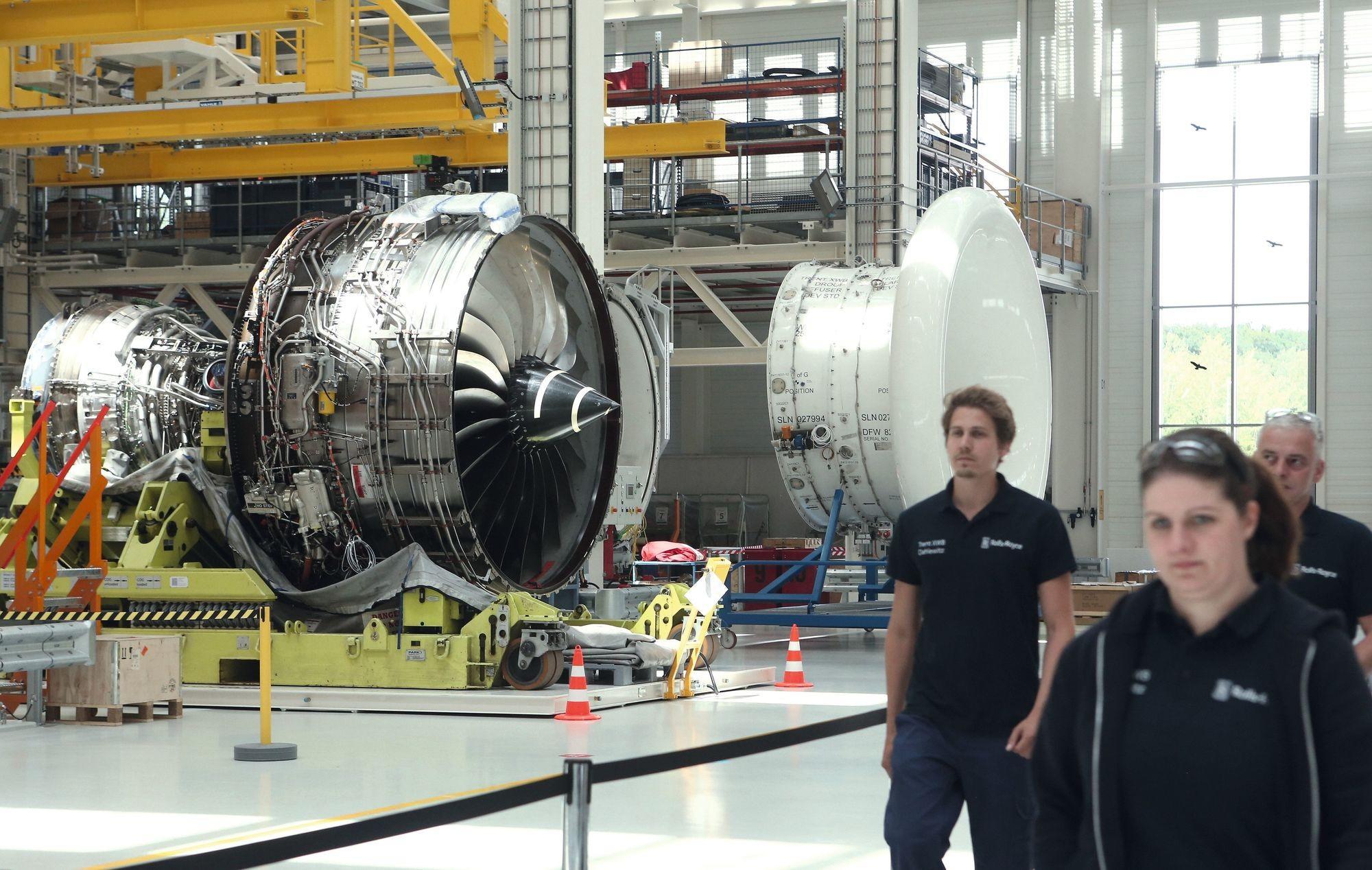 Une nouvelle usine Rolls-Royce à Berlin