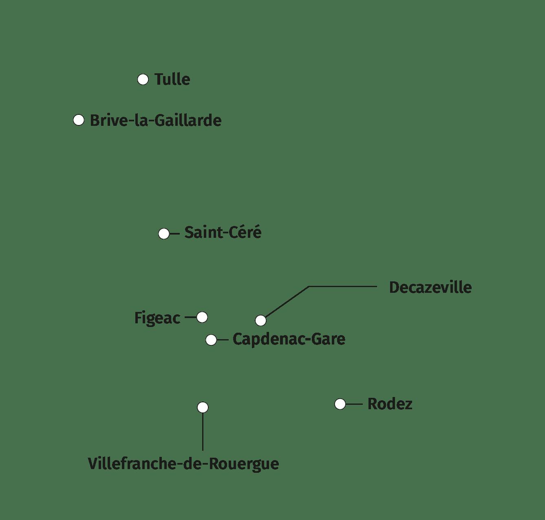 villes principales