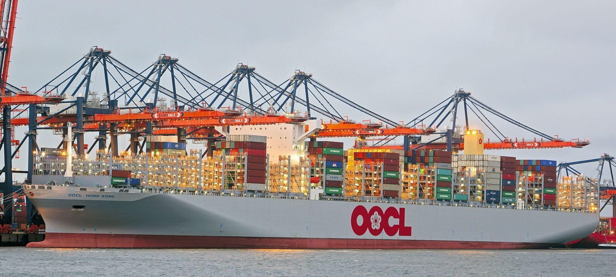 L'OOCL, basé à Hong Kong