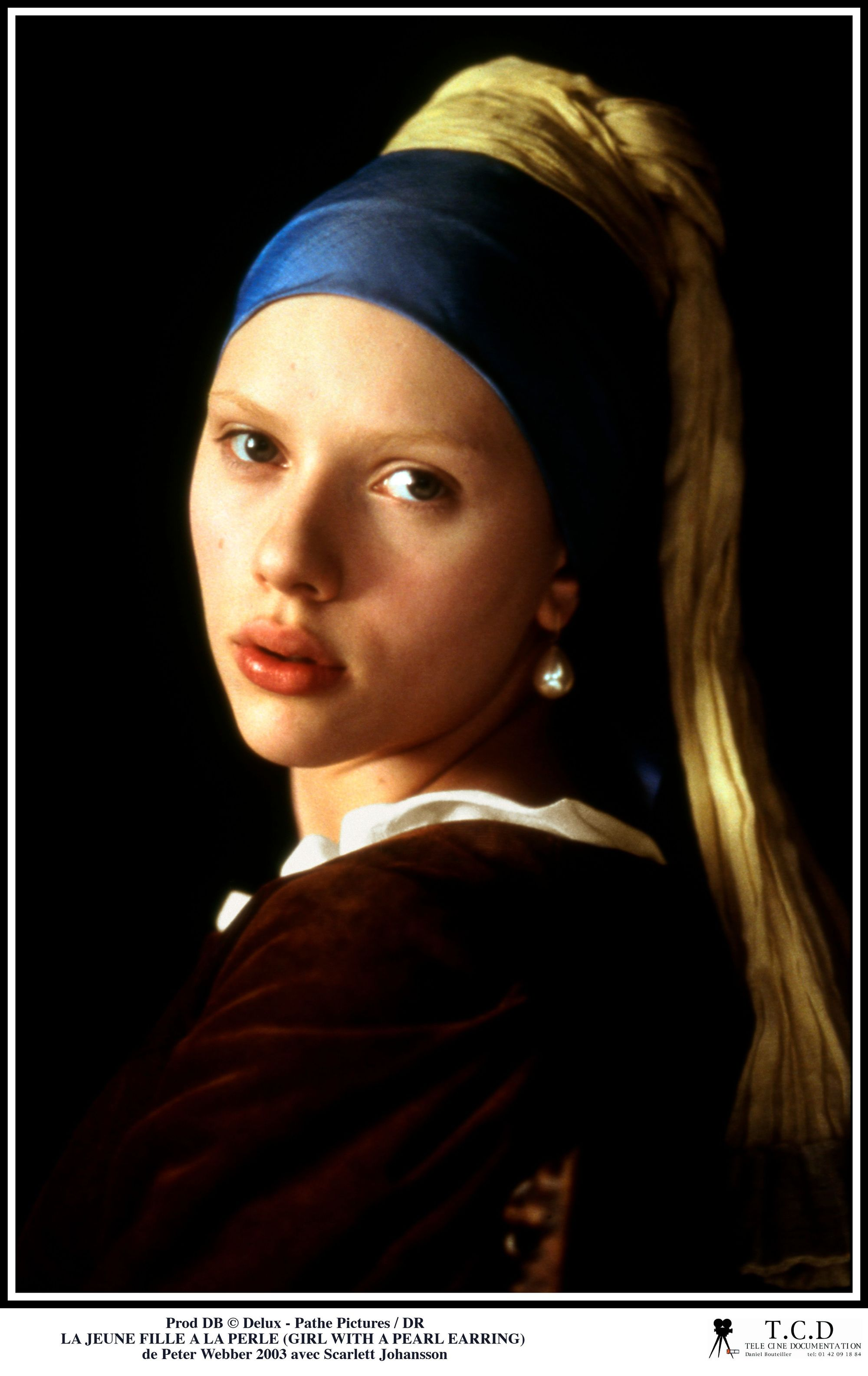 The Girl With A Pearl Earring.