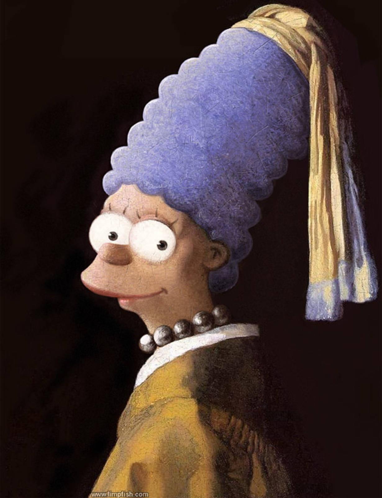 Marge Simpson, David Limpfish, 2009.