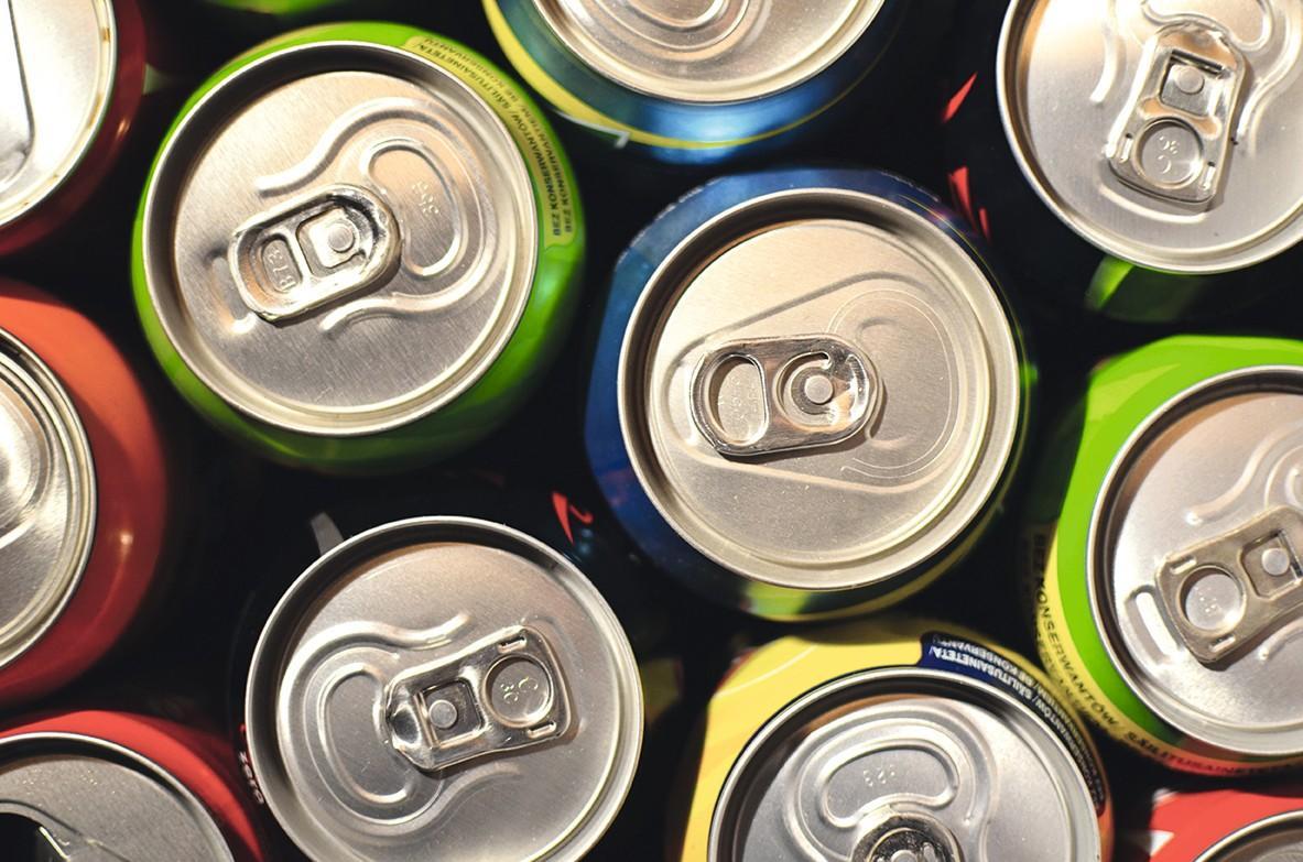 Cannettes de soda