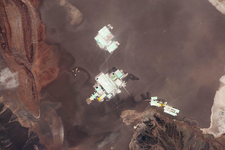 Un espace de production minière : le désert d'Atacama