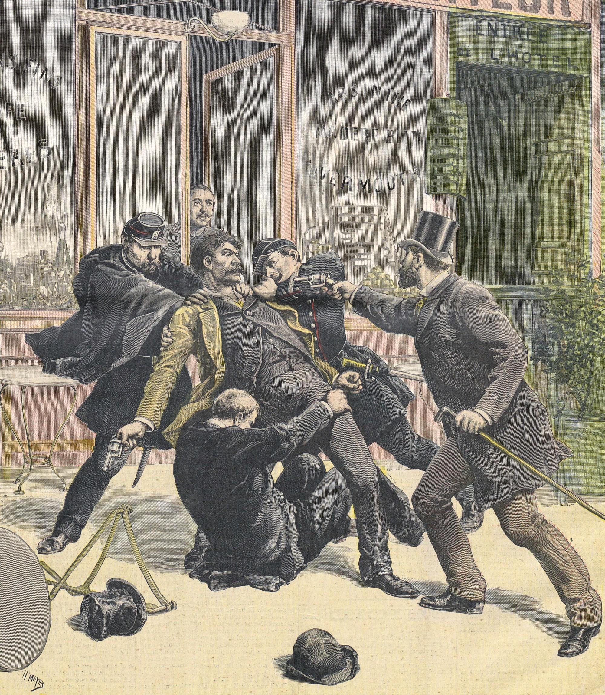Une Petit Journal, arrestation Ravachol