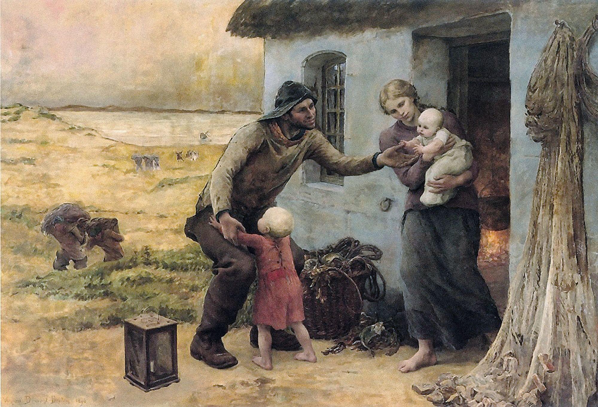 Virginie Demont-Breton, Le Foyer