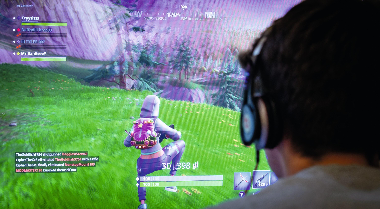 Le jeu vidéo « Fortnite », l'un des plus populaires en 2018, peut être obtenu sous forme dématérialisée.