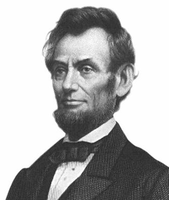 Abraham Lincoln, discours de Gettysburg, 1863.