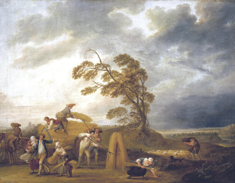 Louis-Joseph Watteau, Les Quatre Heures de la journée : les vêpres, 1774, huile sur toile, 65 x 84 cm, Musée des Beaux-Arts, Valenciennes