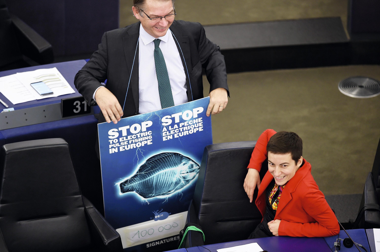 16 janvier 2018, au Parlement européen