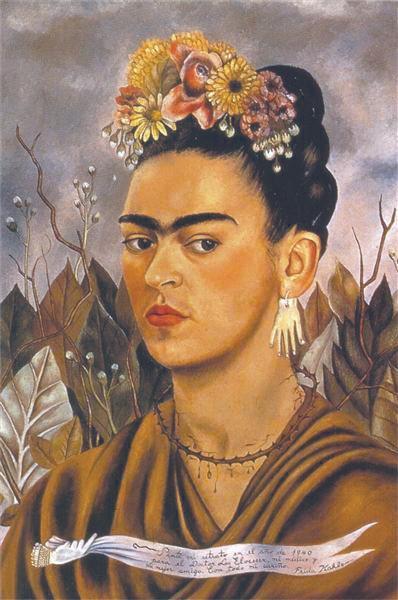 Frida Kahlo, Autorretrato dedicado al doctor Eloesser, 1940.