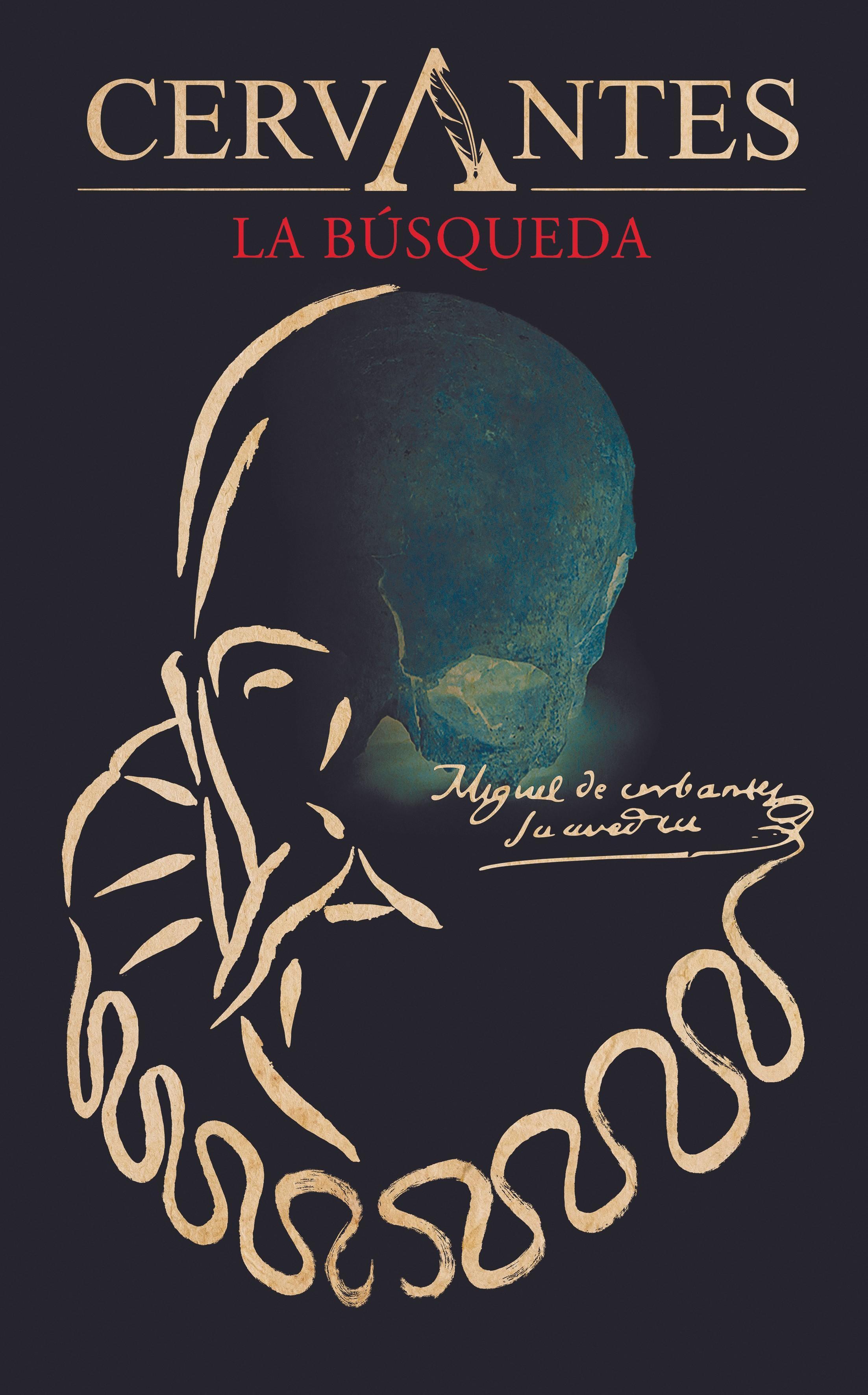 Cartel del documental Cervantes, la búsqueda de Javier Balaguer, 2016.