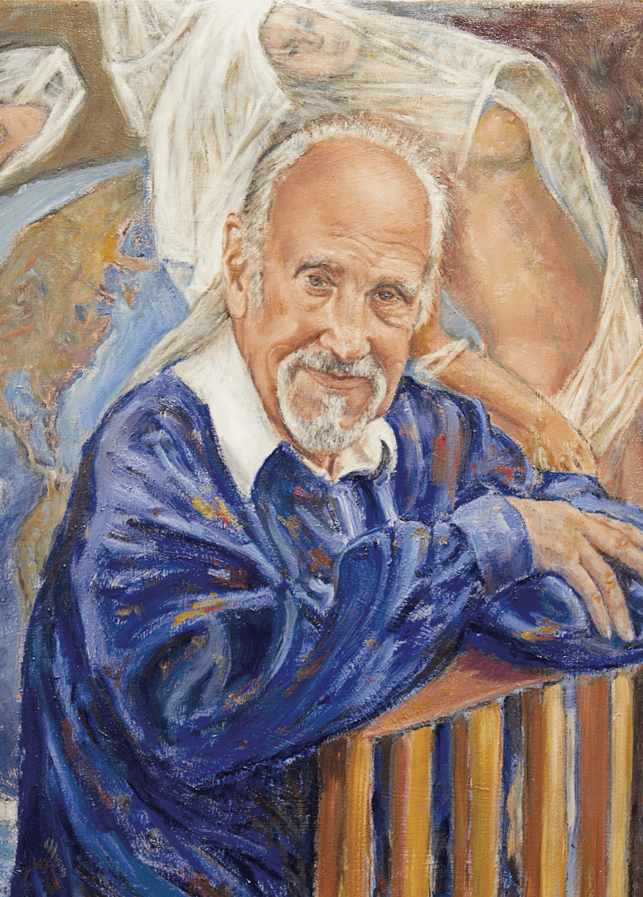 Autorretrato de Rico López, 2012.