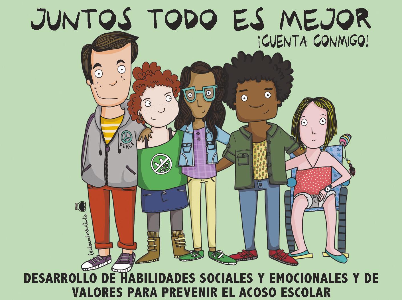 Campaña Juntos todo es mejor, CEAPA, Gobierno de España, 2016.