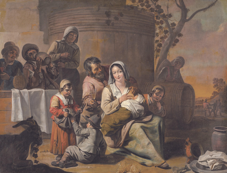 Les frères Le Nain, v. 1650, huile sur toile, 92 x 121 cm, museum of Art, Cleveland
