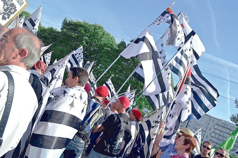 Le mouvement des Bonnets Rouges en Bretagne