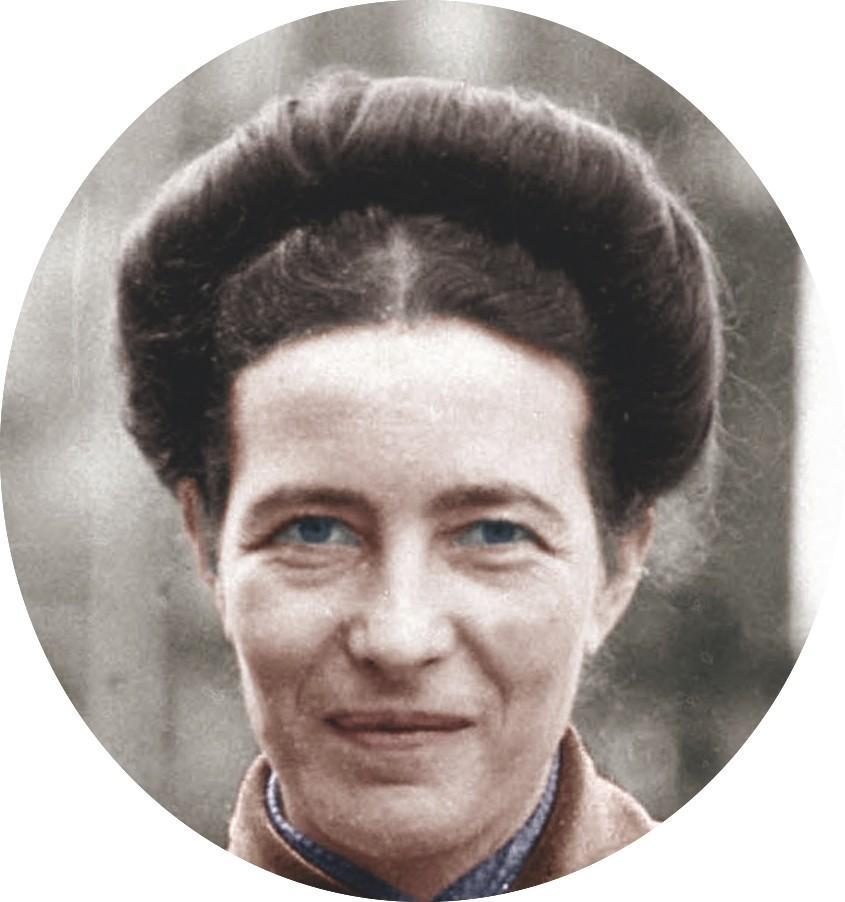 Photographie Simone de Beauvoir