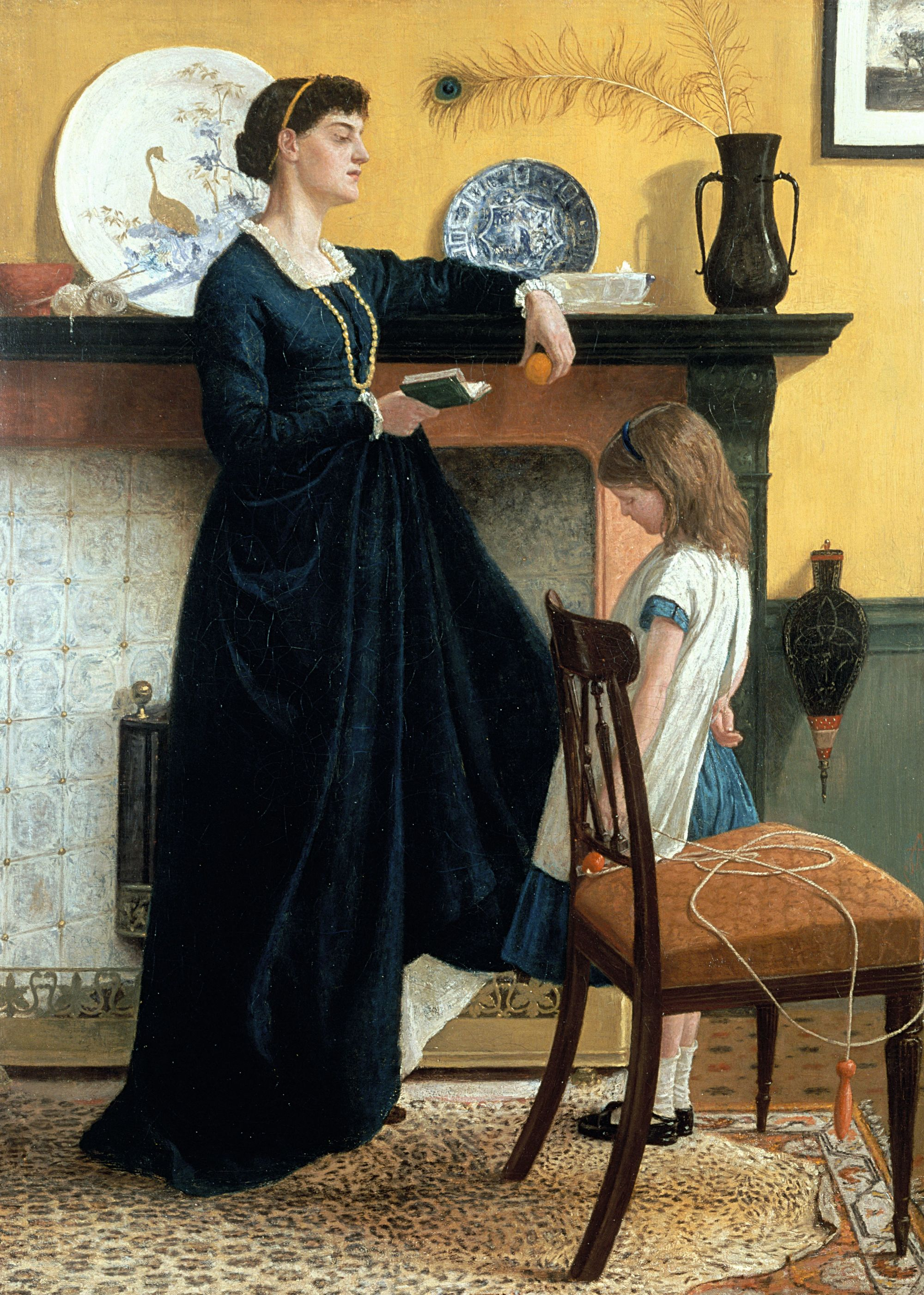 Thomas Armstrong, La leçon, XIXe siècle