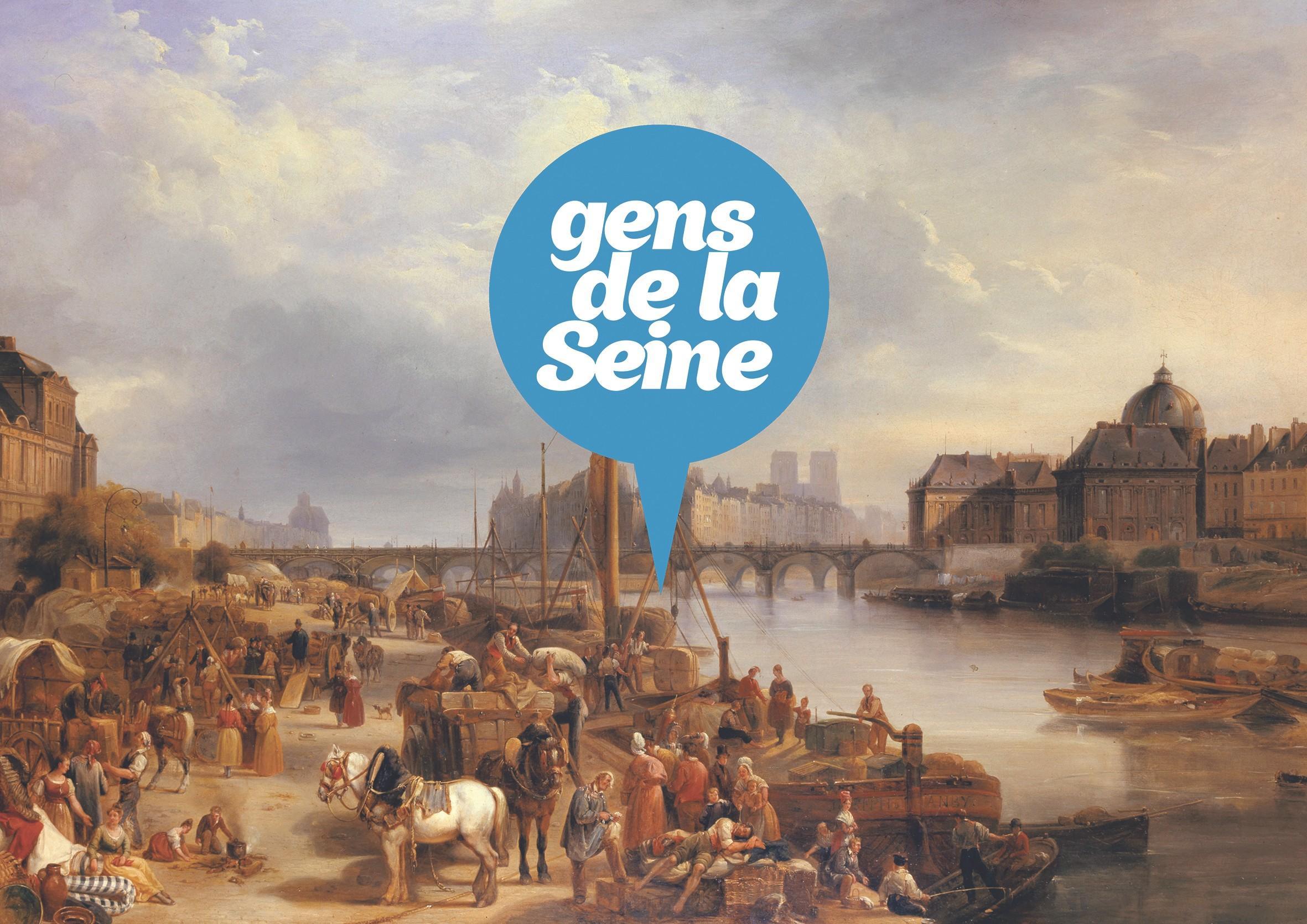 la Seine est au coeur de la vie des Parisiens et des Parisiennes