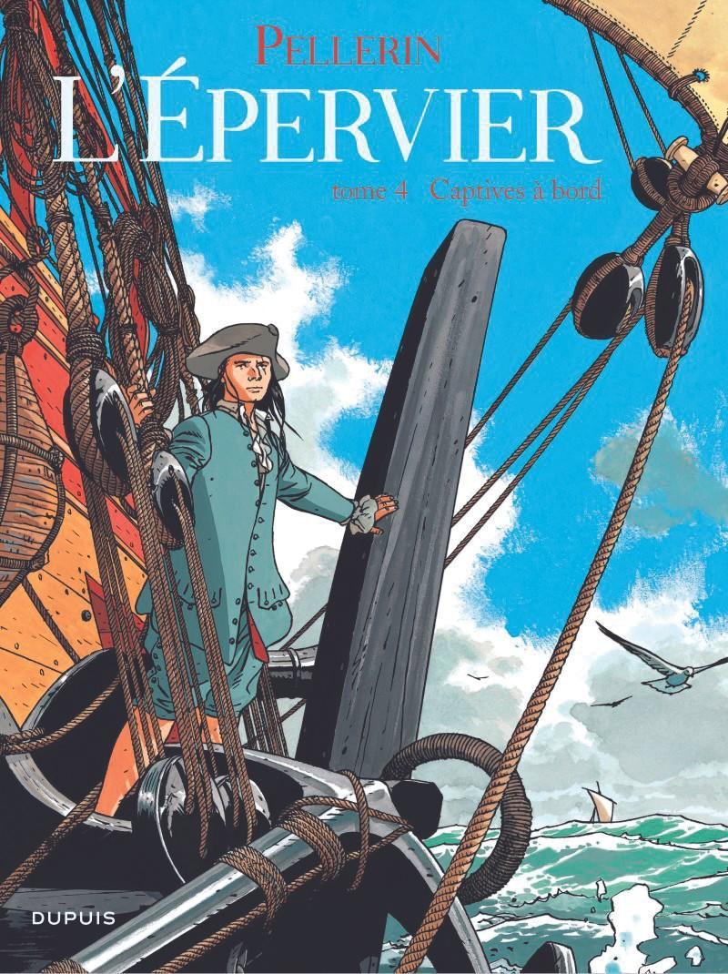 L'Epervier, série de bandes dessinées historiques écrites par Patrice Pellerin