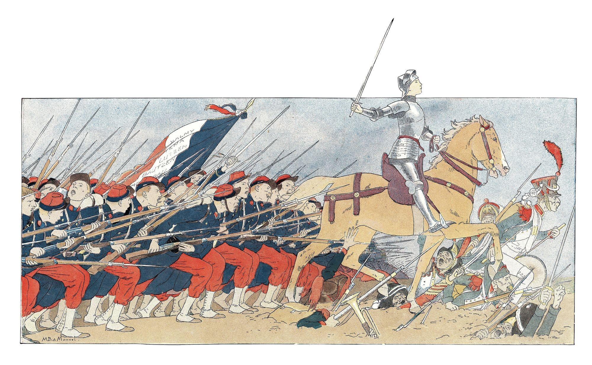 Louis-Maurice Boutet de Monvel, Jeanne d'Arc