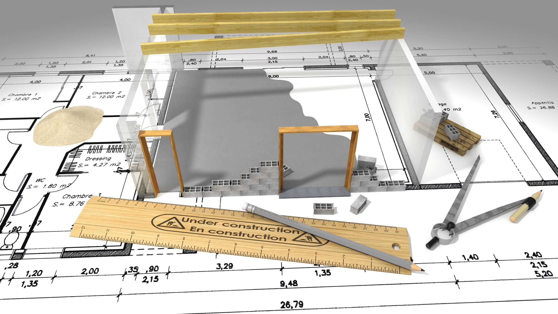 Dans la vie professionnelle : les calculs d'un architecte
