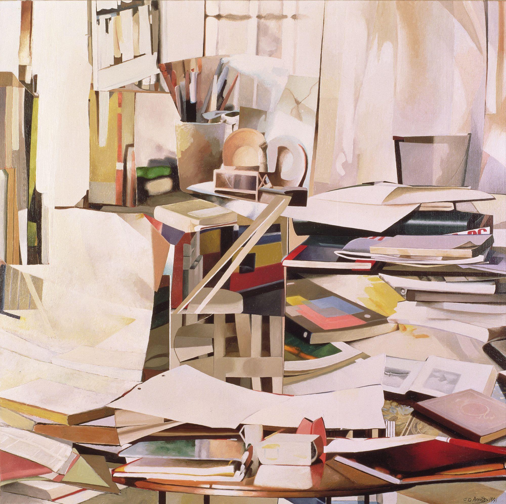 Jeremy Annett, Wind of change, 1991.