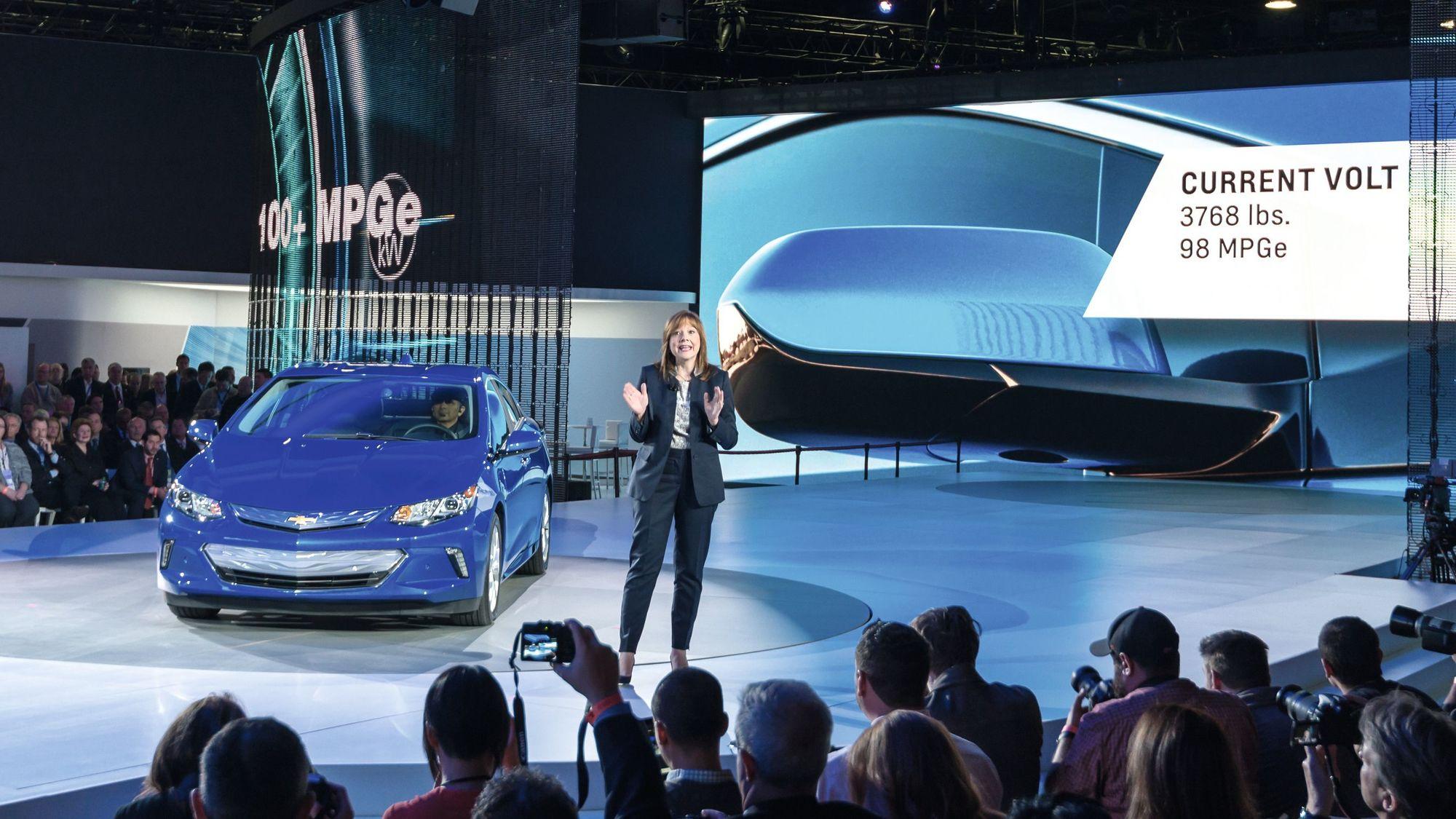 Mary Barra, directrice générale de General Motors, une entrepreneure comme les autres ?