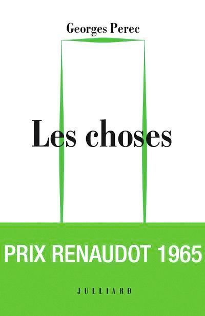 Les Choses, éditions Julliard, 1965