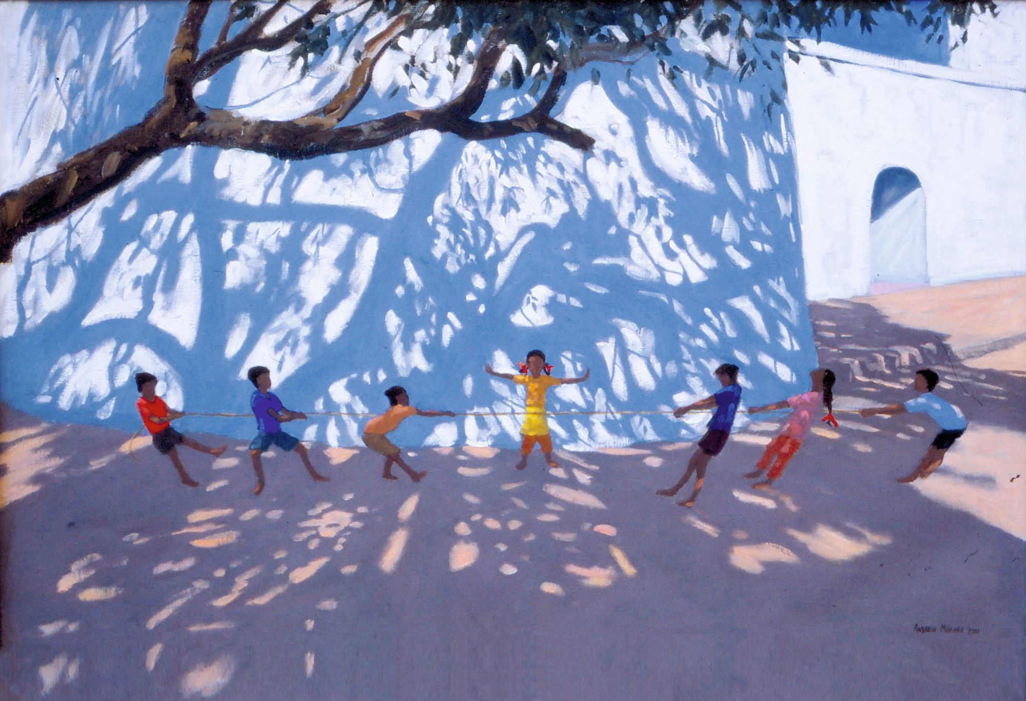 Andrew Macara, Tug of War, Gujarat, India, 2001