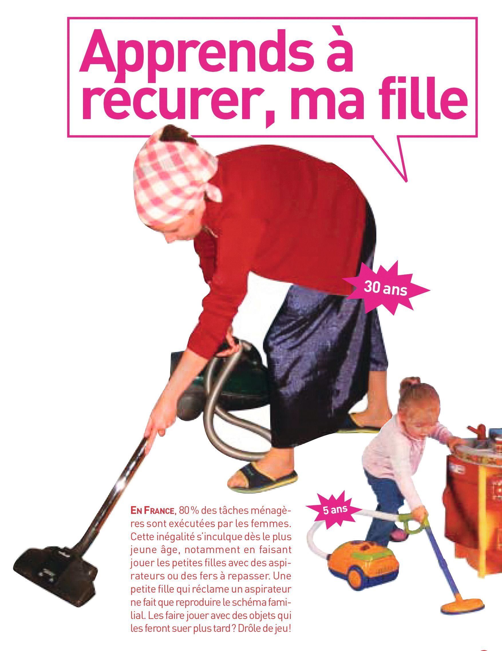 Collectif contre le publisexisme, Catalogue contre les jouets sexistes, 2007.